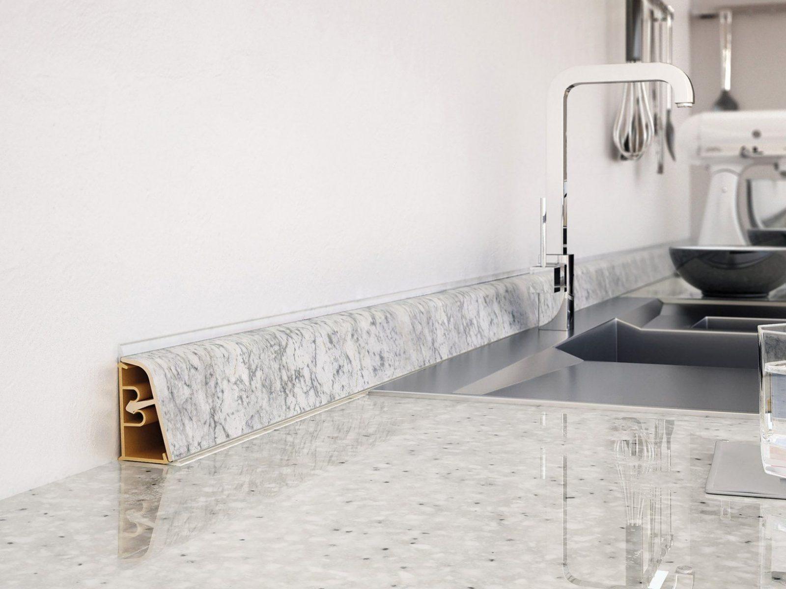 Leisten Für Küchenarbeitsplatten  Wandanschlussprofile  Fn von Leiste Für Arbeitsplatte Küche Photo