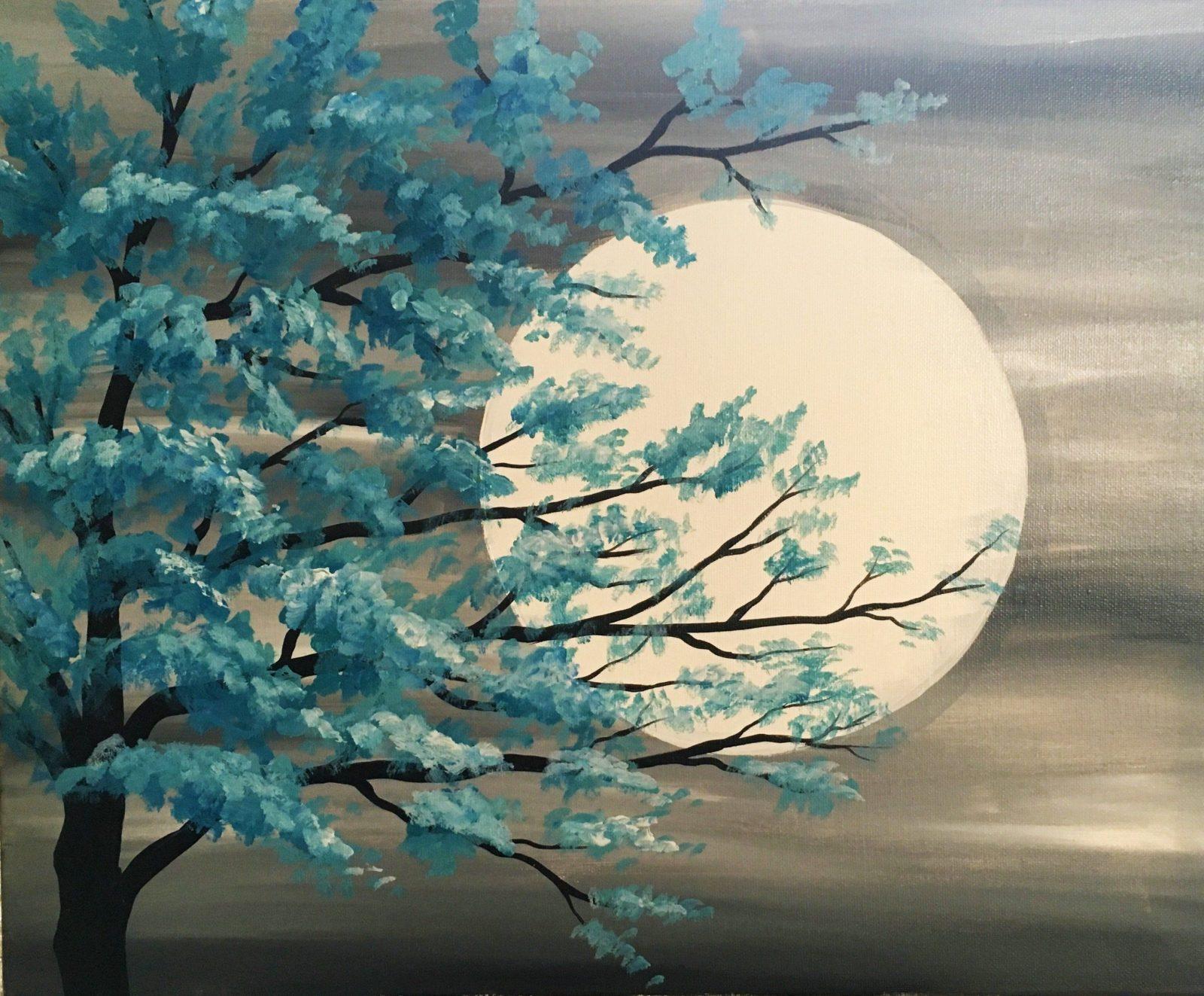 Lernen Sie Die Grundtechniken Der Acrylmalerei Für Anfänger Ideen von Acrylbilder Selber Malen Für Anfänger Bild