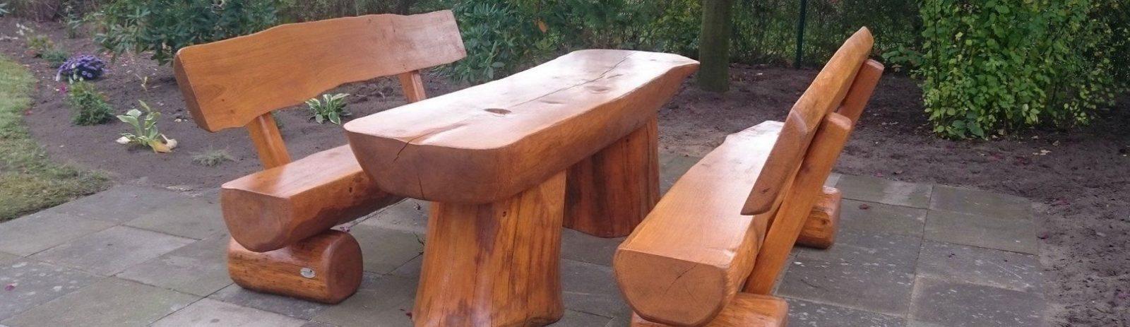 Lewitz Holz  Wir Bauen Räucheröfen Und Gartenbänke Aus Eichenholz von Rustikale Gartenmöbel Aus Eiche Bild