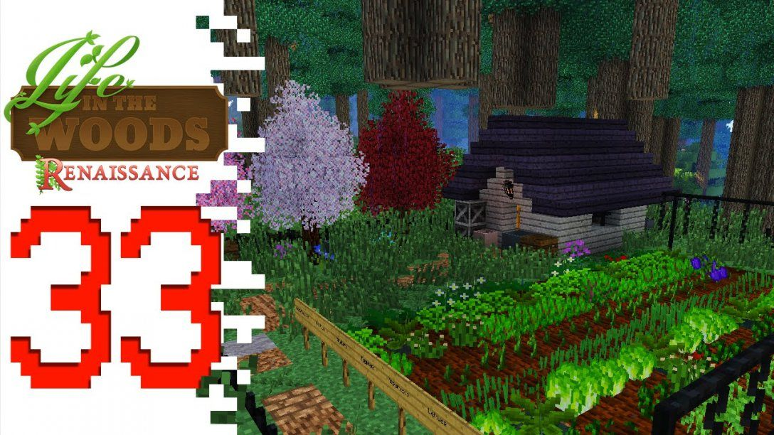 Life In The Woods Renaissance  Ep33  Cabin In The Woods von Life In The Woods Minecraft Bild