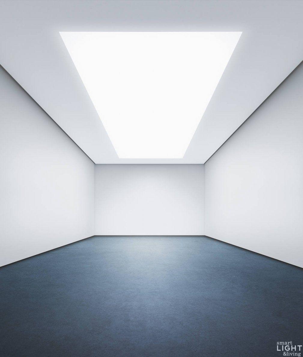 Light+Building  Philips Onespace Macht Die Zimmerdecke Zum Led von Led Lichtdecke Selber Bauen Bild
