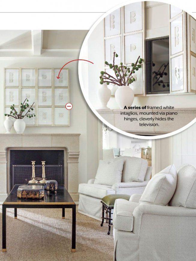 Lighten Up The Living Room  Fernseher Verstecken Wohnzimmer Und von Fernseher Im Wohnzimmer Verstecken Bild