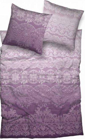 Lila  Biberbettwäsche Und Weitere Bettwäsche Günstig Online von Bettwäsche Lavendel Motiv Bild