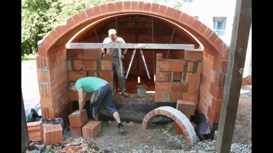 Lindner Gewölbekellerbau  Youtube von Weinkeller Selber Bauen Bauplan Bild