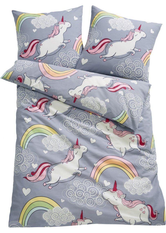 Linon Bettwäsche Für Schöne Träume  Bonprix von Einhorn Bettwäsche Ikea Photo