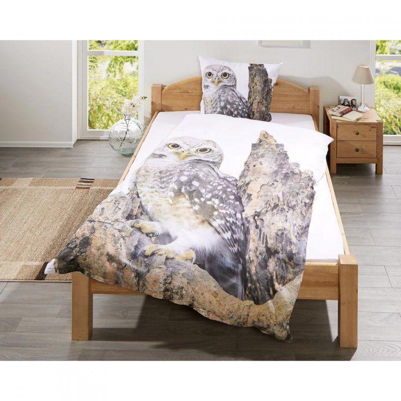 Linonbettwäsche Eule (140 X 200 Cm)  Dänisches Bettenlager von Eulen Bettwäsche Dänisches Bettenlager Photo