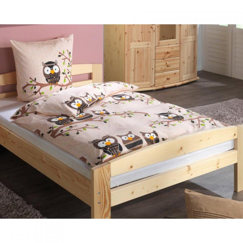 Bettwasche Linon Bettwasche Eule 135x200 Danisches Bettenlager Von