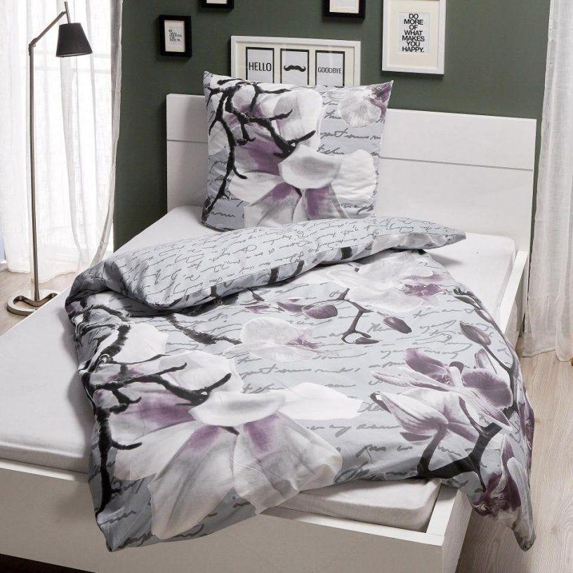 Linonbettwäsche Orchidee (155X220)  Dänisches Bettenlager von Romantische Bettwäsche Im Landhausstil Photo