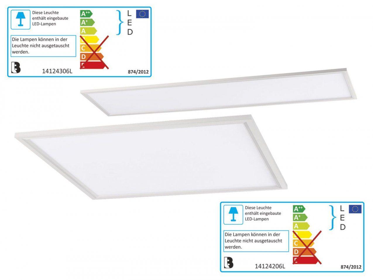 Livarno Lux® Ledleuchtpanel Mit Farbtonsteuerung  Lidl Deutschland von Livarno Lux Led Leuchtpanel Bild