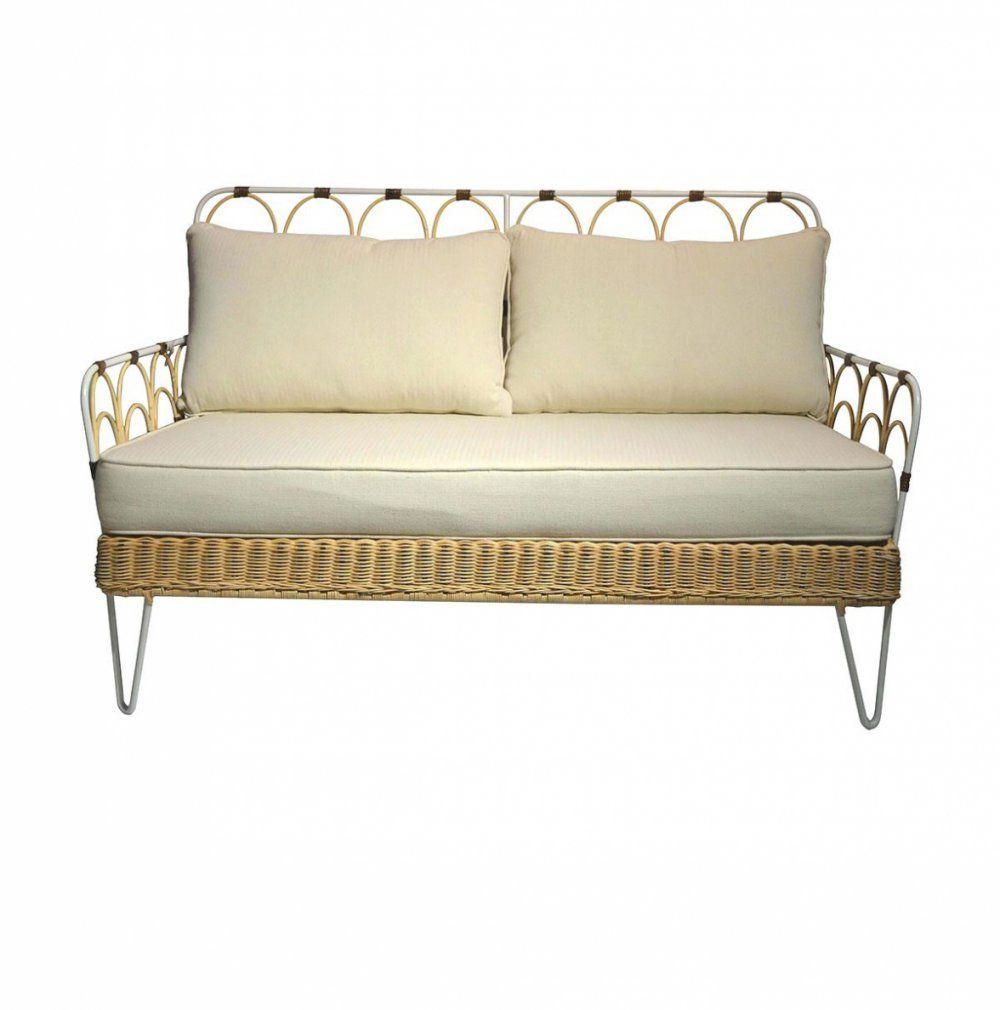 Living Room Haus Möbel Rattan Couch Mit Schlaffunktion Love Seat von Rattan Couch Mit Schlaffunktion Bild