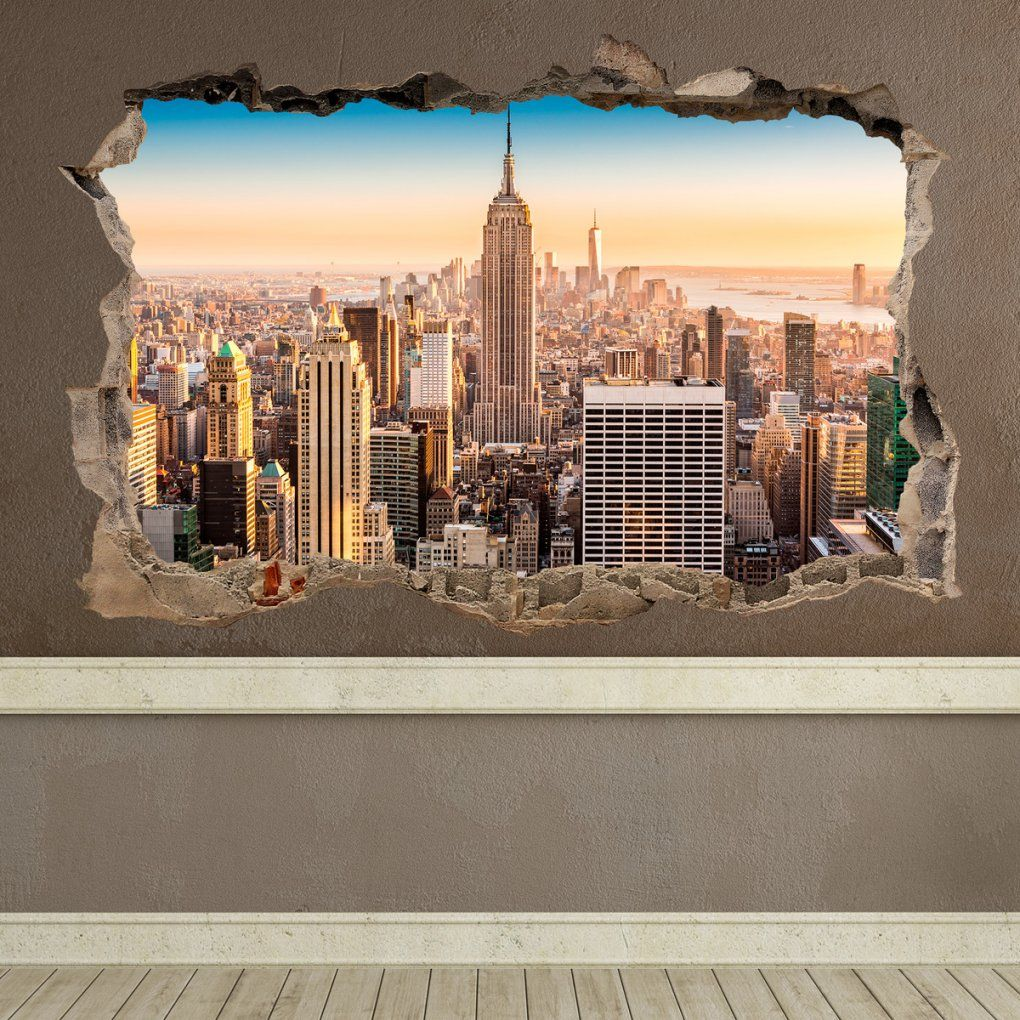 Loch New York von Wandtattoo New York City Bild