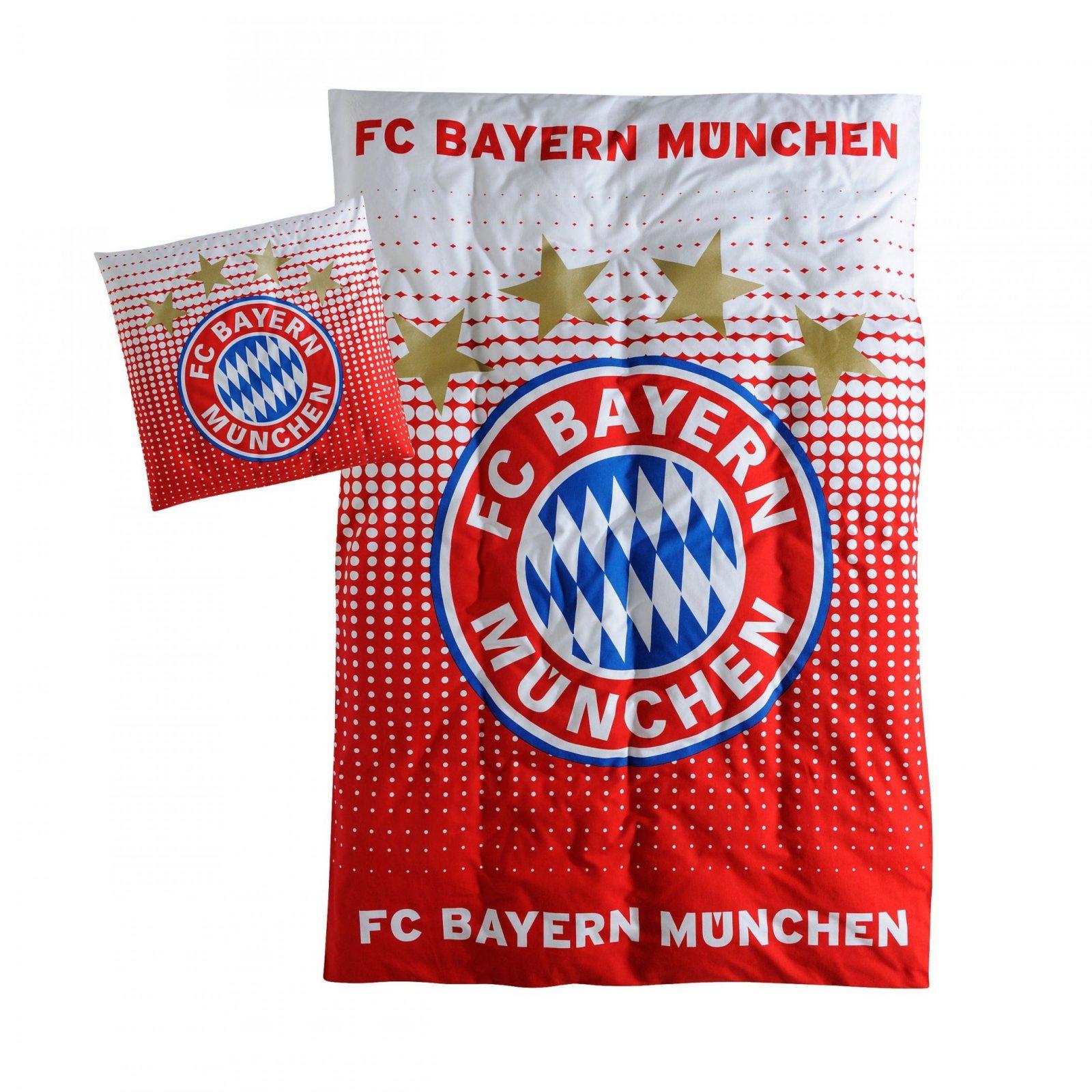 Logo Biber Bettwäsche  Offizieller Fc Bayern Fanshop von Fc Bayern Bettwäsche Biber Bild