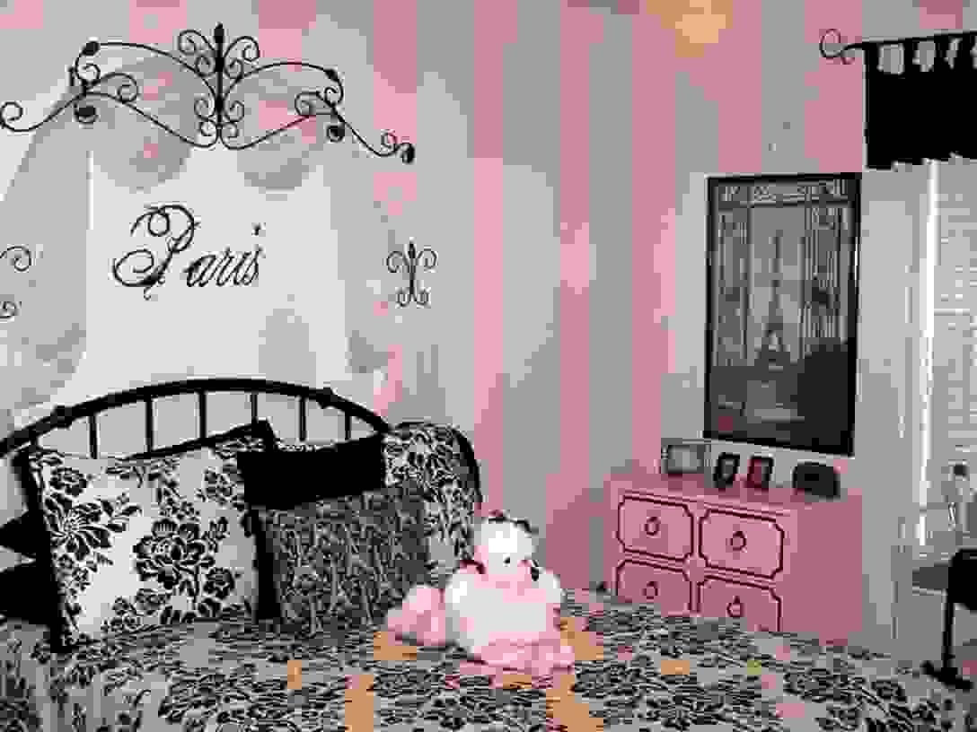 Look Beautiful French Bedding Sets  Lostcoastshuttle Bedding Set von Girls Paris Themed Bedding Bild