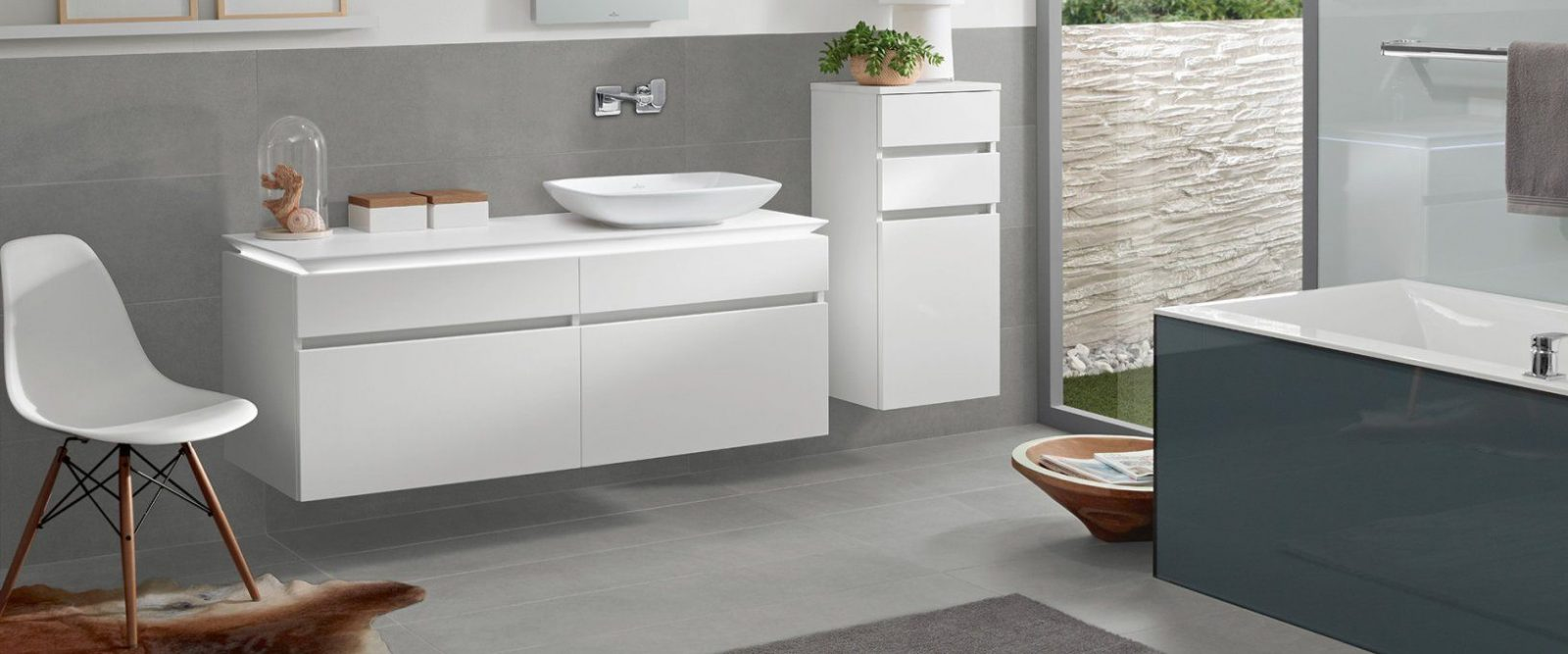 Loop & Friends Collectionvilleroy & Boch – Discover The von Loop & Friends Badewanne Bild