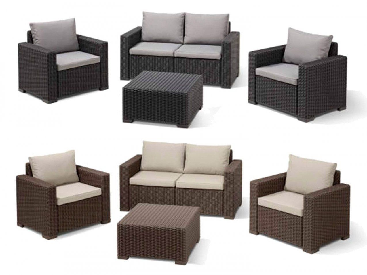 Lounge Set Garten Günstig | Haus Design Ideen