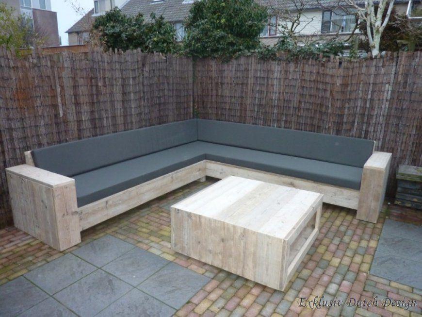 Loungemöbel Garten Selber Bauen  Nowaday Garden von Garten Eckbank Selber Bauen Bild