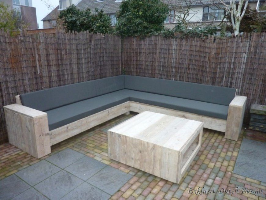 Loungemöbel Garten Selber Bauen Schöne von Loungemöbel Garten Selber Bauen Bild