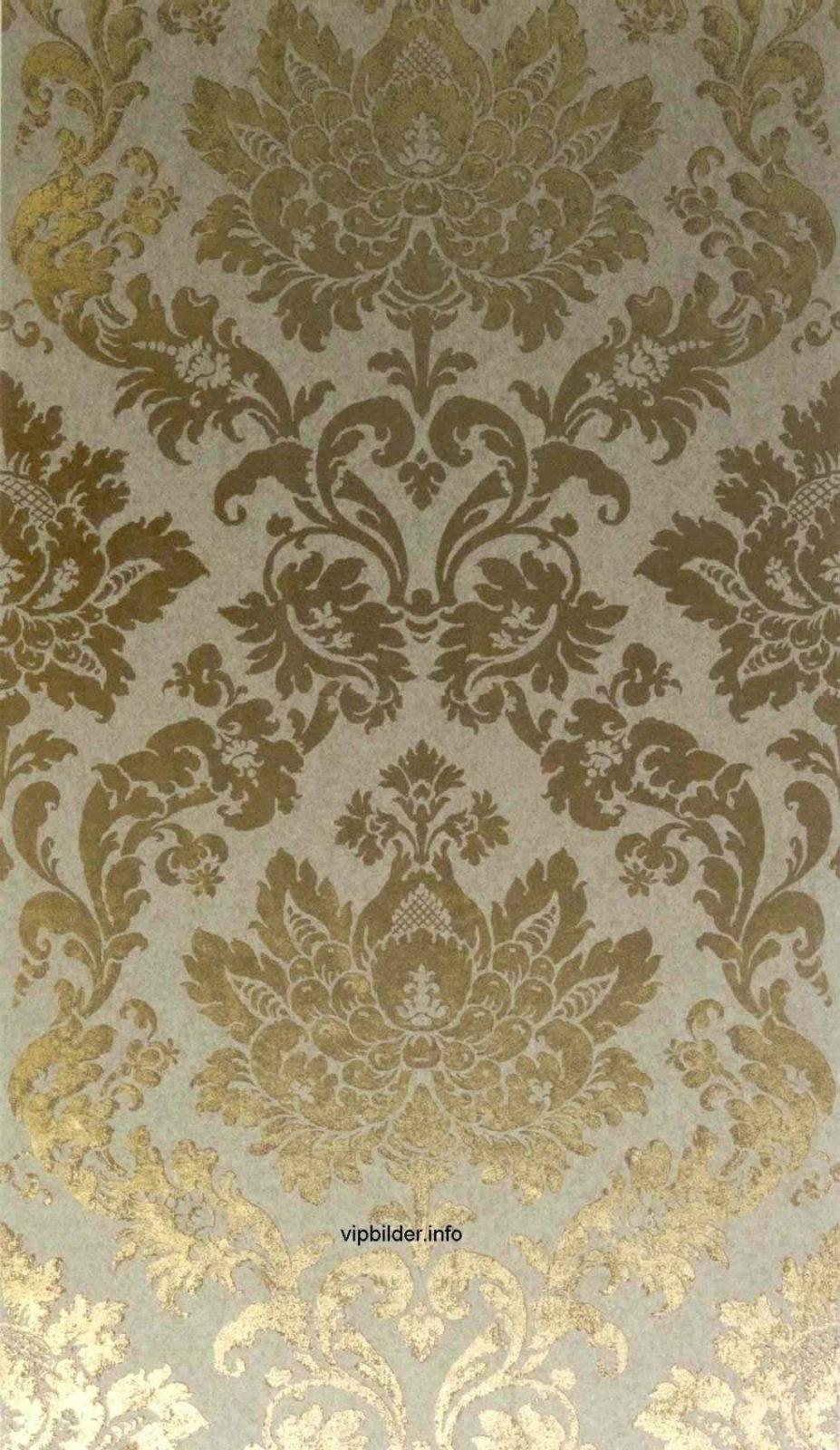 Lovely Barock Tapeten Neo Barock Tapete Gold Metallic Online Kaufen von Barock Tapete Weiß Gold Bild