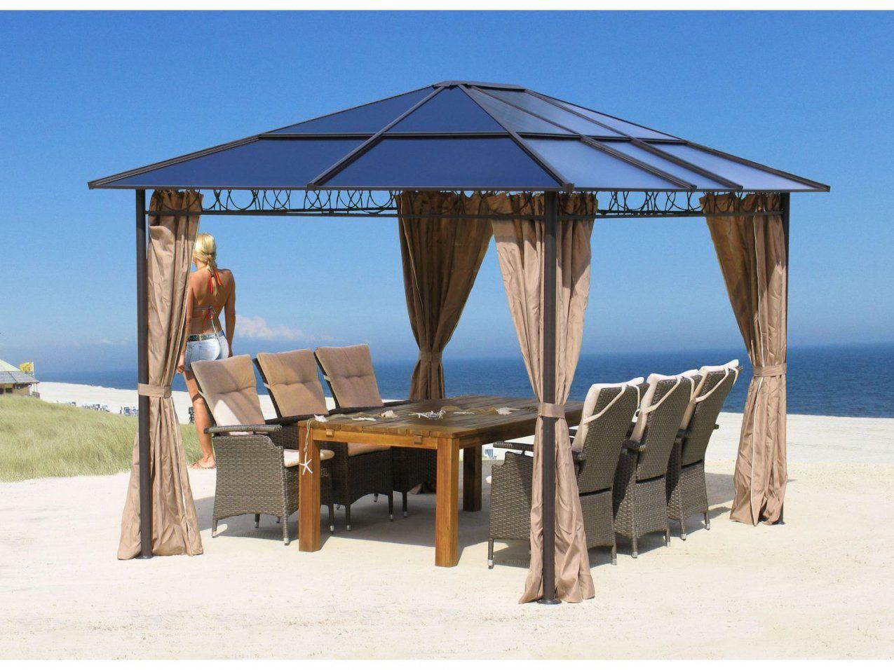 metall gartenpavillon 3x3 m haus design ideen. Black Bedroom Furniture Sets. Home Design Ideas