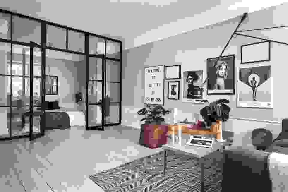 Lustig Trennwand Im Wohnzimmer 6146 Von Ausgefallene Ideen Zur von Ausgefallene Ideen Zur Raumabtrennung Bild