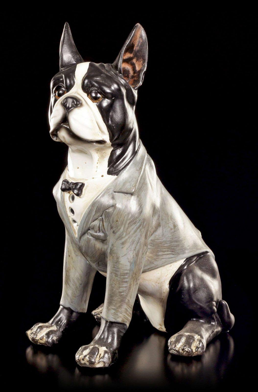 Lustige Hunde Figur  Franz Bulldogge  Curious Dogs  Wwwfiguren von Bettwäsche Französische Bulldogge Photo