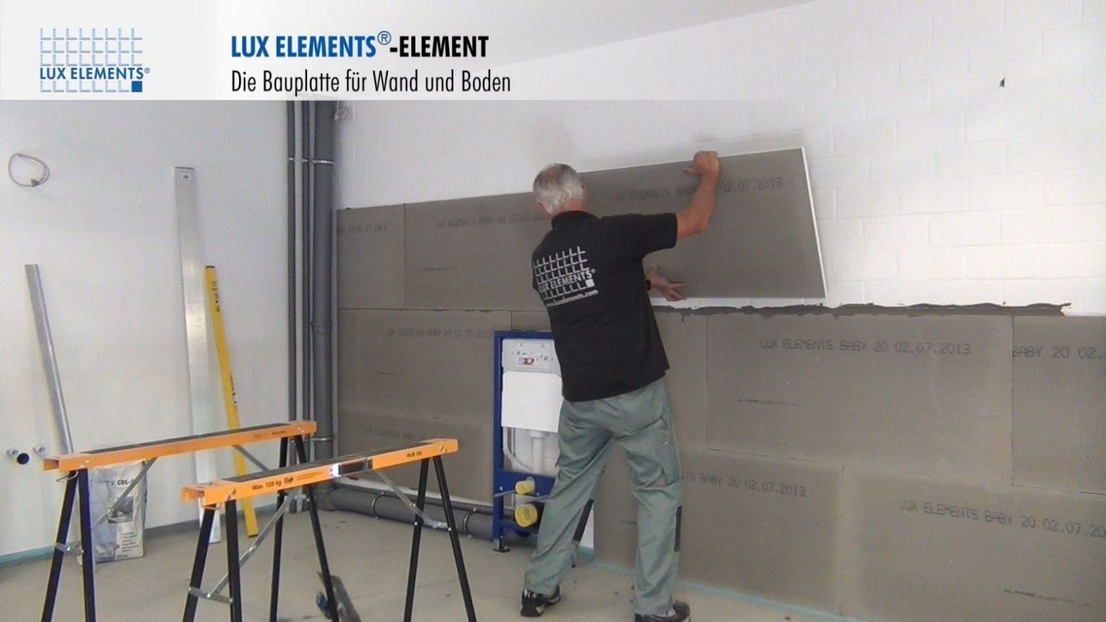 Lux Elements Montage Bauplatte Element Als Wandverkleidung Auf von Wand Paneele Verkleidung Anbringen Photo