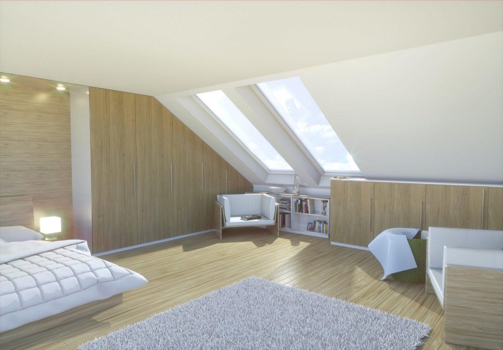 Luxuriös Atemberaubend Schlafzimmer Mit Dachschräge Gestalten Fotos ...