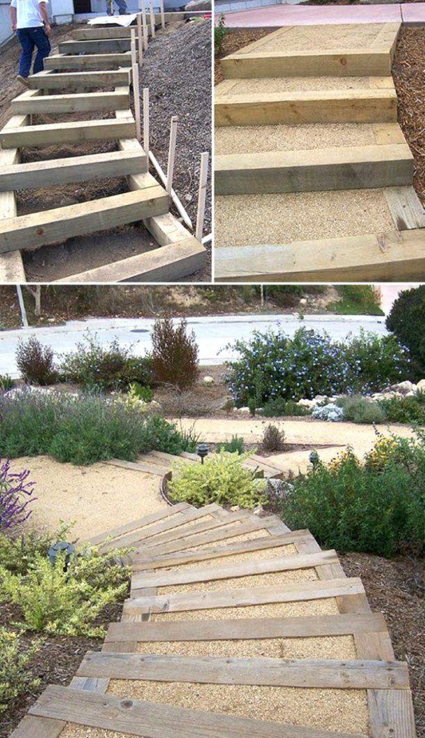 Luxuriös Gartentreppe Selber Bauen  Gartentreppe Selber Bauen von Gartentreppe Selber Bauen Anleitung Photo