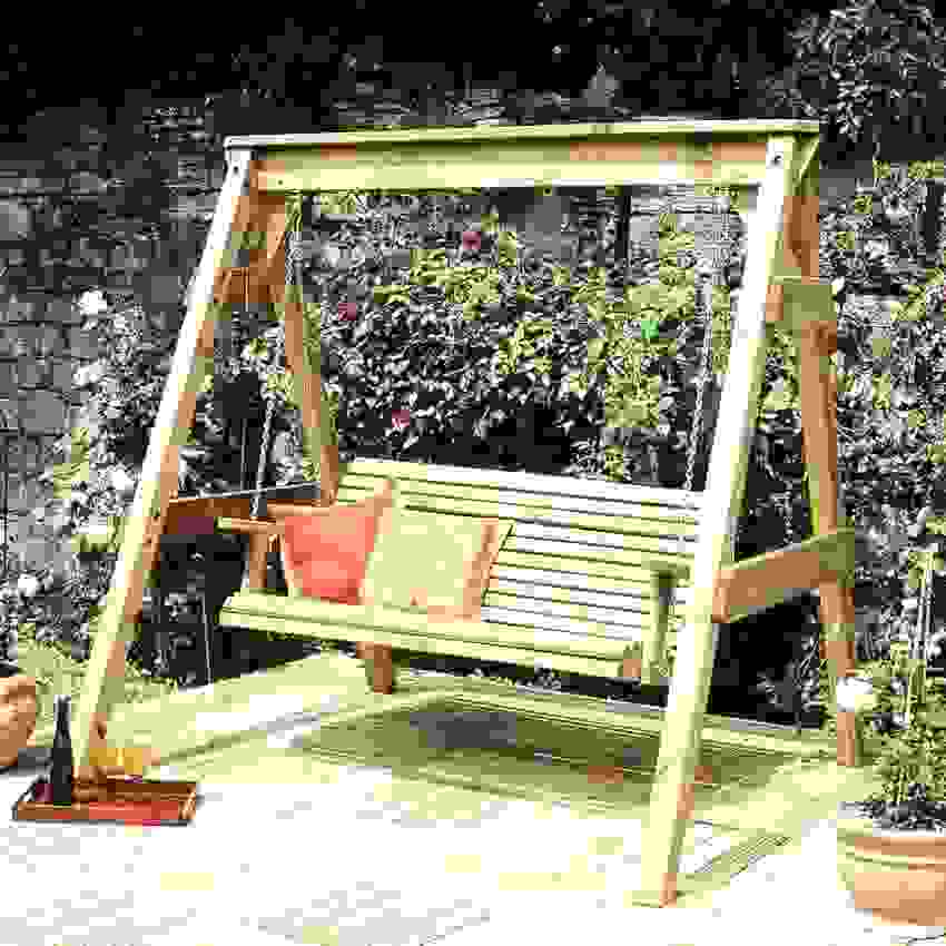 Luxus 40 Schaukelbank Selber Bauen Ideen  Einzigartiger Garten von Hollywoodschaukel Holz Selber Bauen Bild