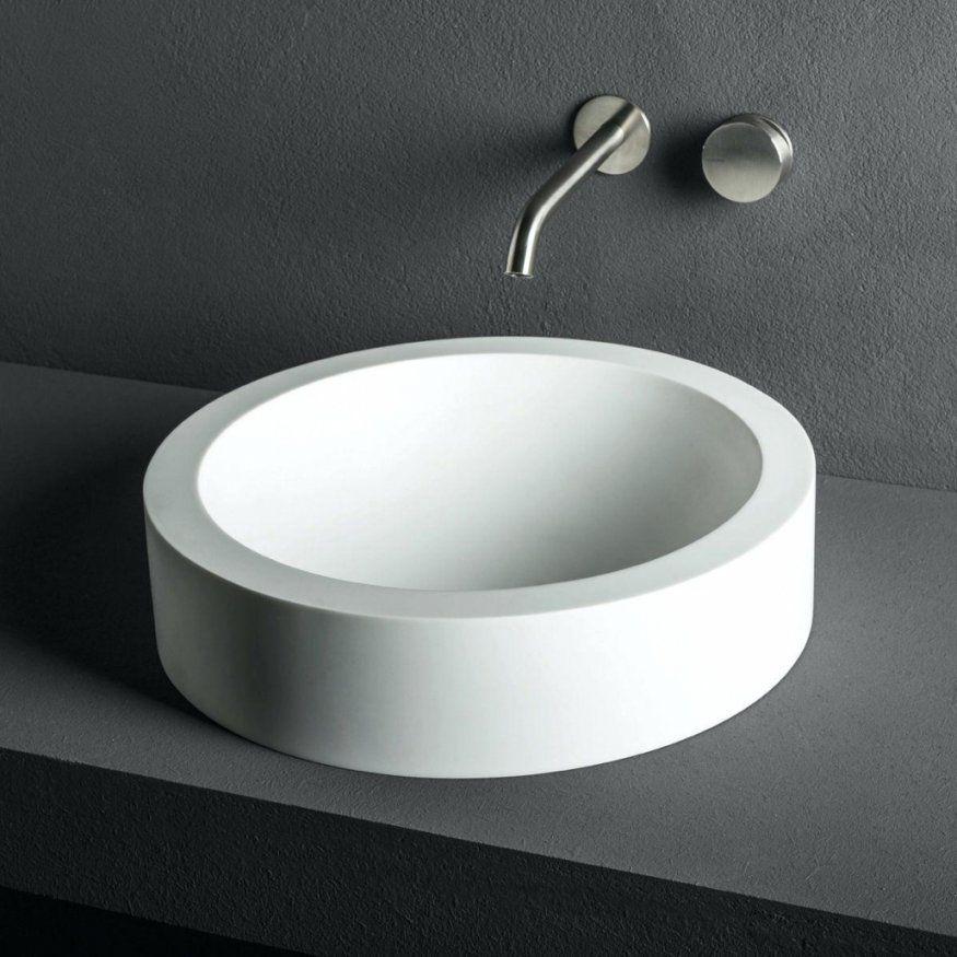 Luxus Aufsatzwaschbecken Rund 30 Cm Waschbecken Rund von Waschbecken Rund 30 Cm Bild