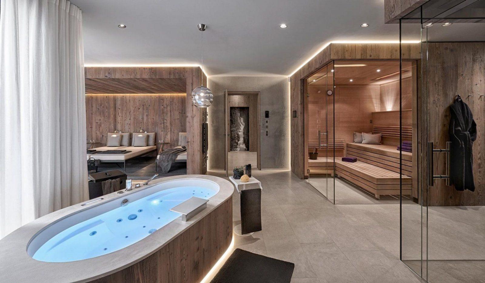 Luxus Badezimmer Luxus Galerie Betreffend Luxus Badezimmer von Luxus Badezimmer Mit Whirlpool Bild