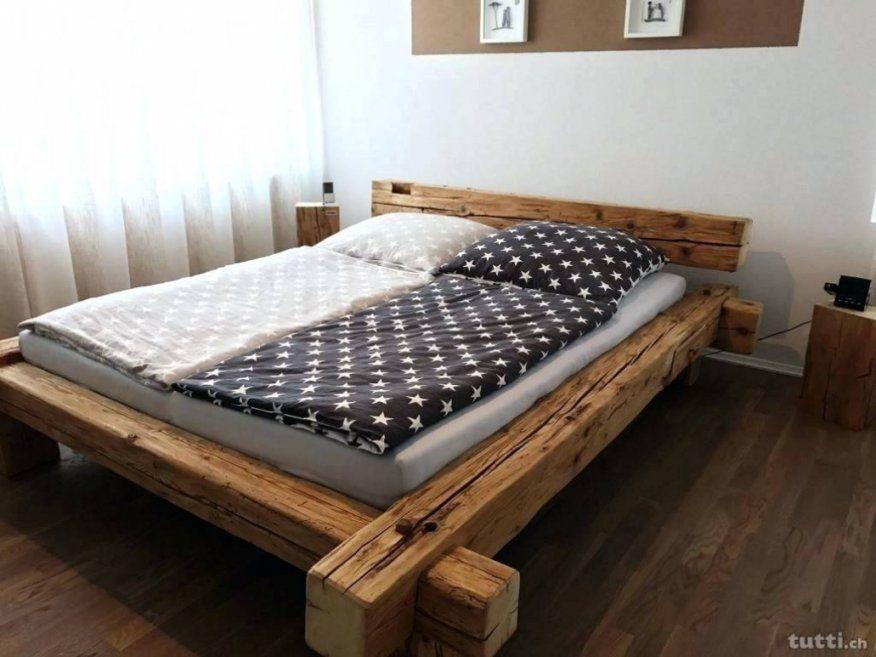Luxus Bett Alte Balken Balkenbett Fortwallawalladiscgolf  1Mcontrol von Bett Aus Alten Balken Photo