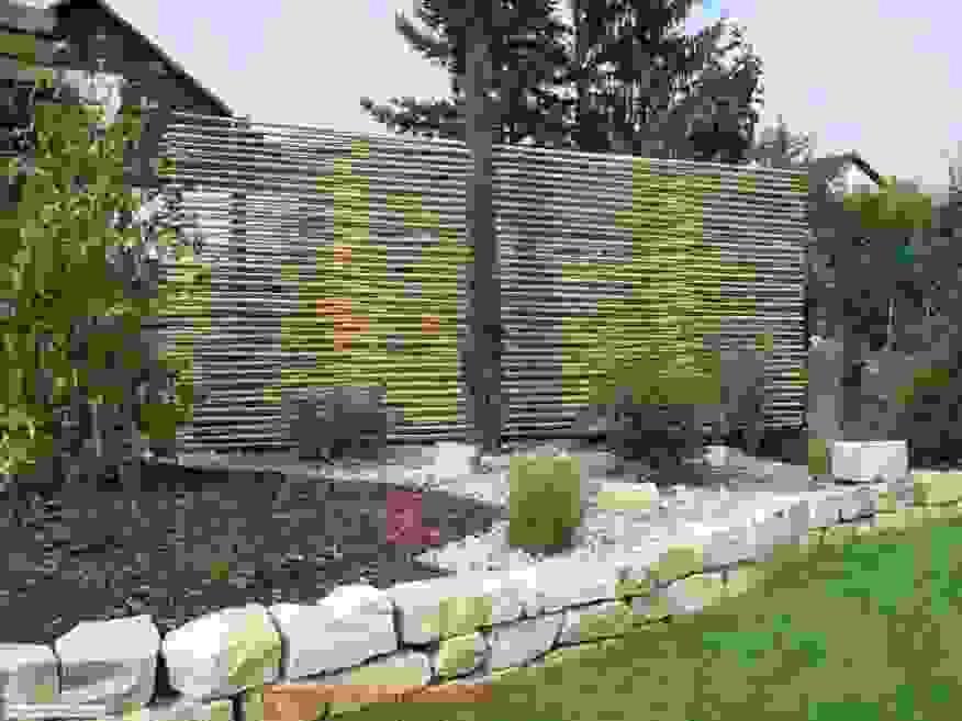 Luxus Garten Trennwand Sichtschutz Aus Paletten Bauen Free Ist Luxus von Sichtschutz Aus Paletten Bauen Bild