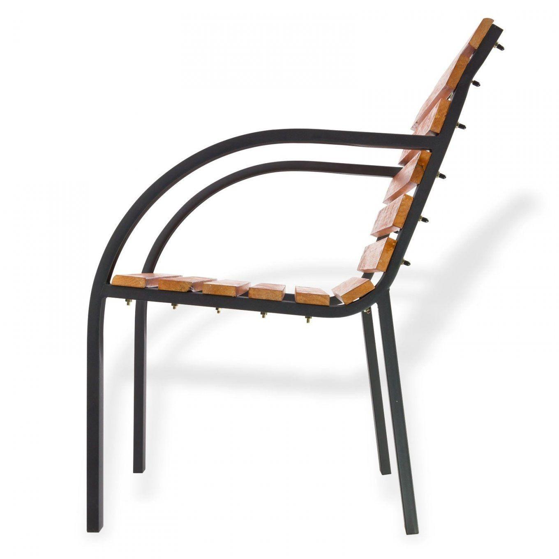Luxus Gartenstuhl Metall Holz Design von Gartenstuhl Klappbar Holz Metall Bild