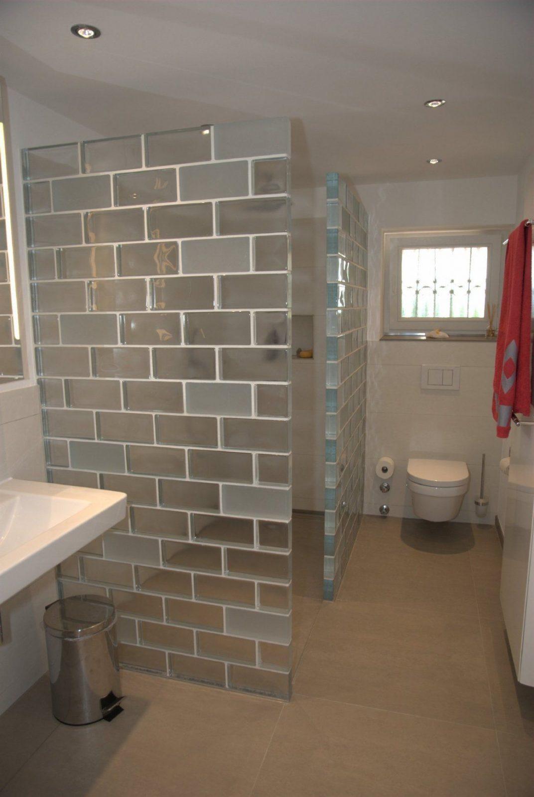 Luxus Glasbausteine Badezimmer Licht Statt Dicht 11 Projekte Mit Von von Dusche Selber Bauen Glasbausteine Photo