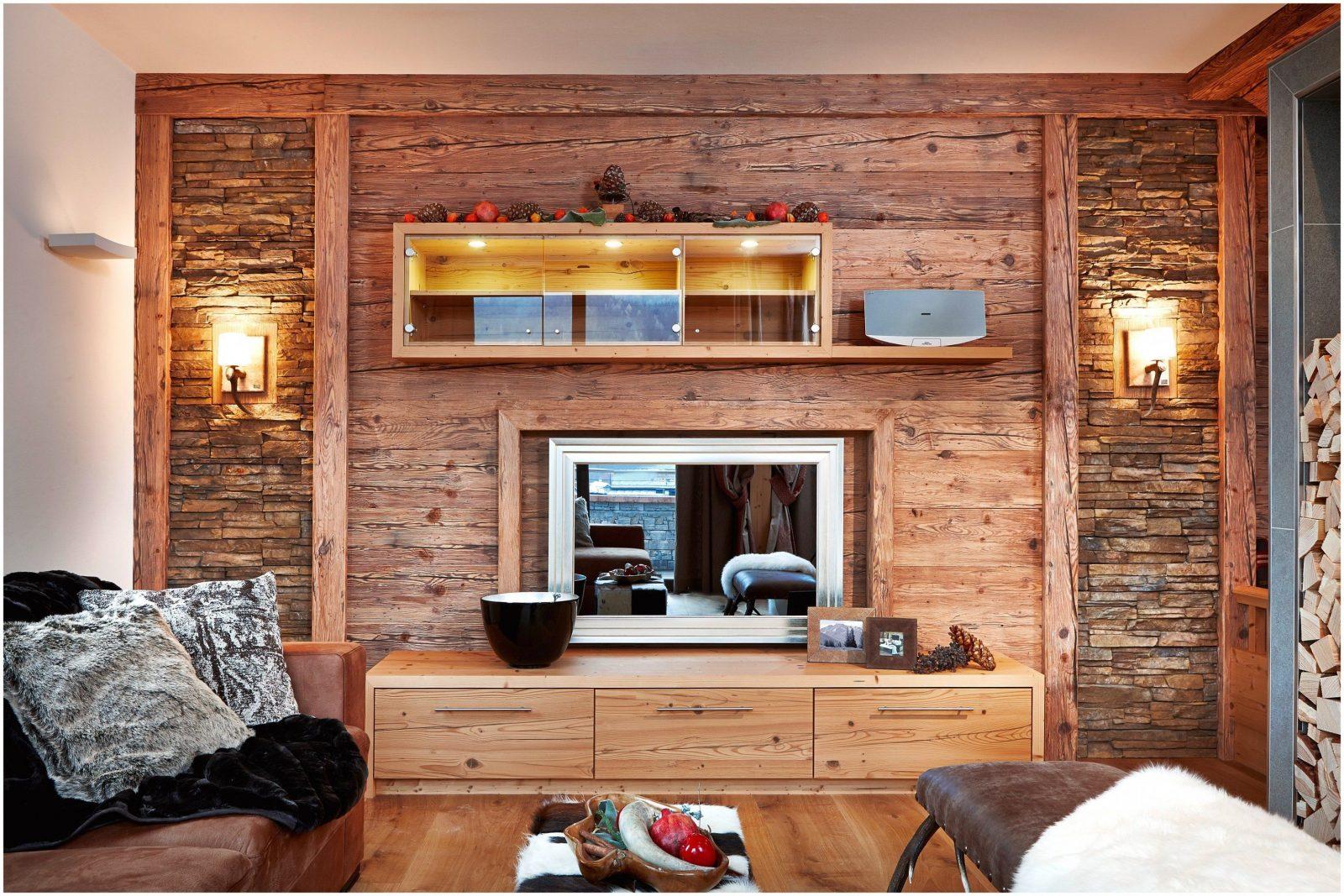 Luxus Holzwand Wohnzimmer Fotos Von Wohnzimmer Stil 93648 von Holzwand Wohnzimmer Selber Bauen Photo
