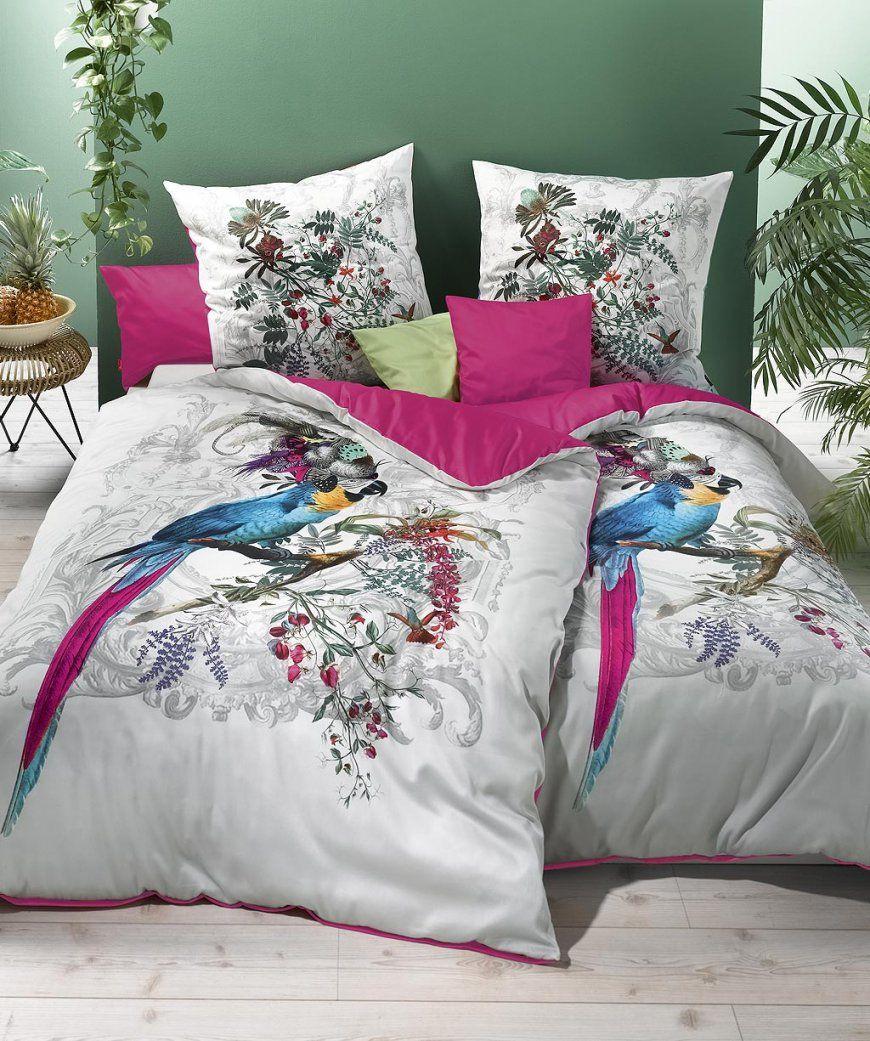 Luxus Mako Satin Wendebettwäsche Digitaldruck Von Fleuresse Bed Art von Bettwäsche 155X200 Biber Photo