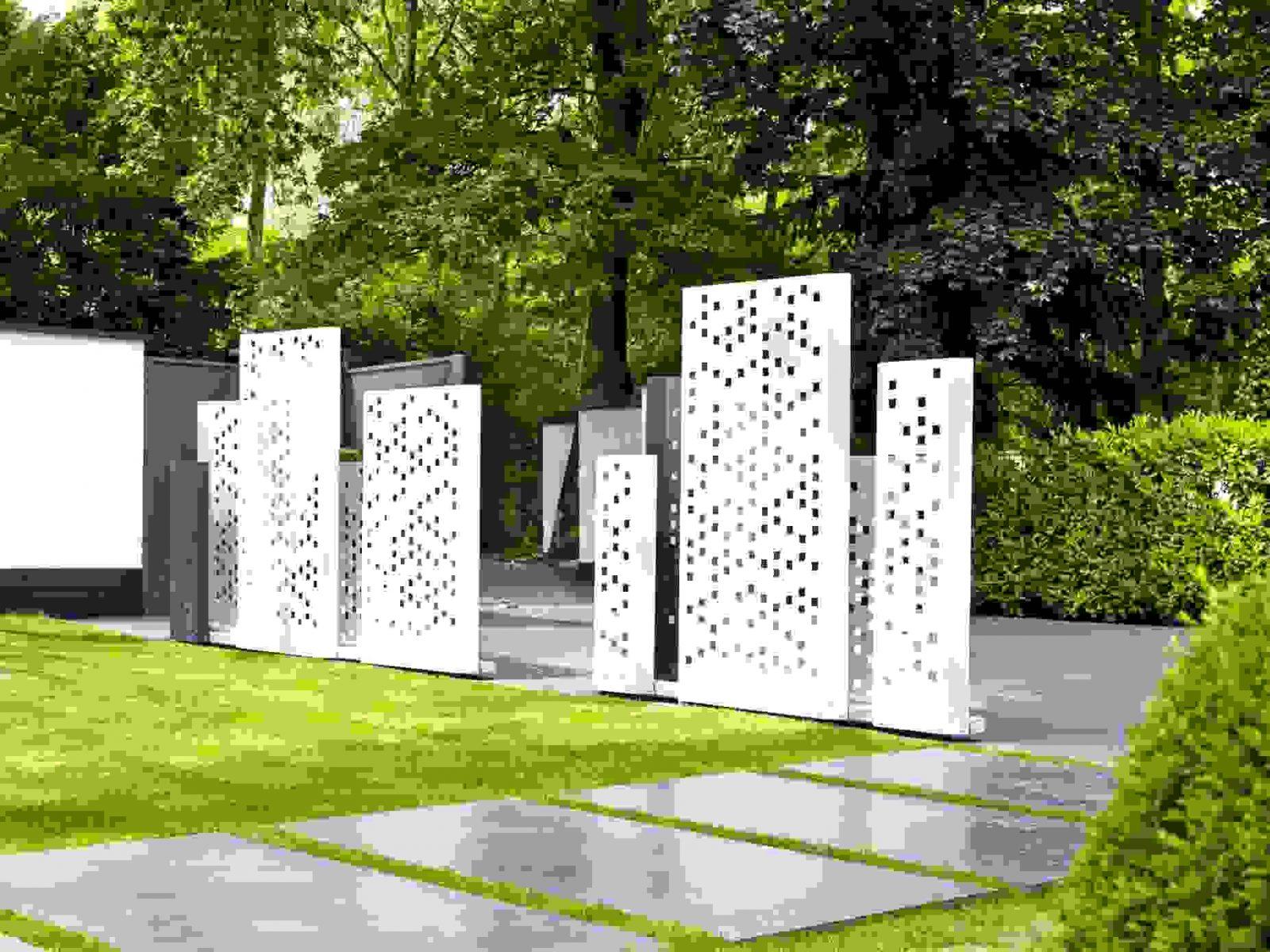 Luxus Schöne Terrassen Und Gartengestaltung Von Sichtschutz Garten von Sichtschutz Garten Ideen Günstig Bild
