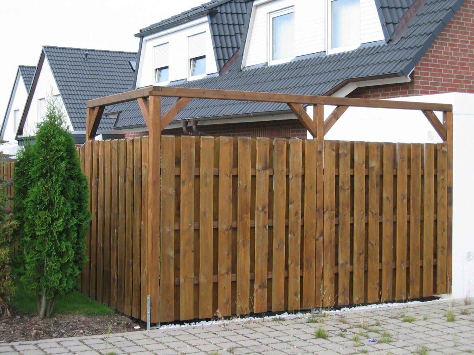 Luxus Sichtschutz Selbst Gestalten Zaun Aus Holz Selber Bauen Mo07 von Sichtschutz Selber Bauen Holz Photo