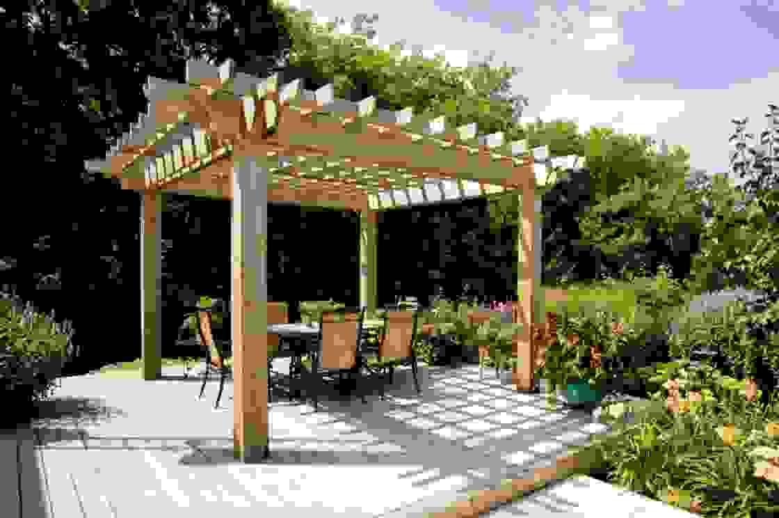 Luxus Von Pergola Bausatz Freistehend Holz Inspiration  Moderne von Pergola Bausatz Freistehend Holz Photo