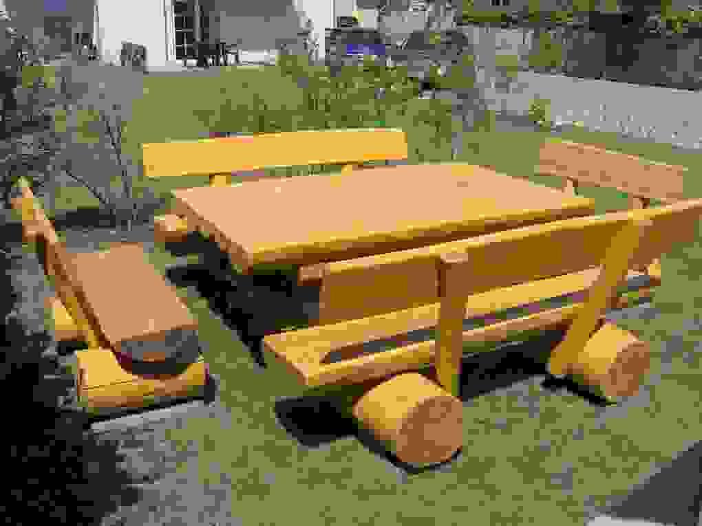Luxus Von Rustikale Gartenmöbel Aus Holz Ideen  Moderne von Rustikale Holz Gartenmöbel Aus Polen Photo