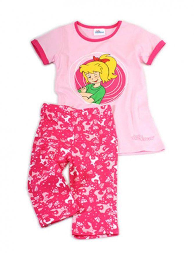 Mädchen Pyjama Bibi Blocksberg Größe 110116  Real von Bettwäsche Bibi Blocksberg Bild