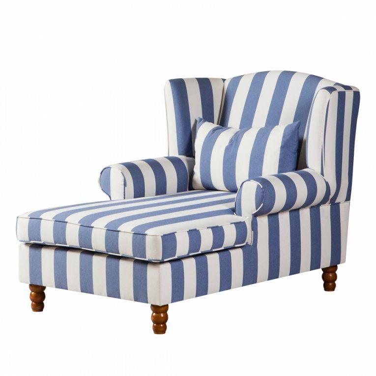 Maison Belfort Sessel – Für Ein Ländliches Zuhause  Home24 von Sofa Blau Weiß Gestreift Bild