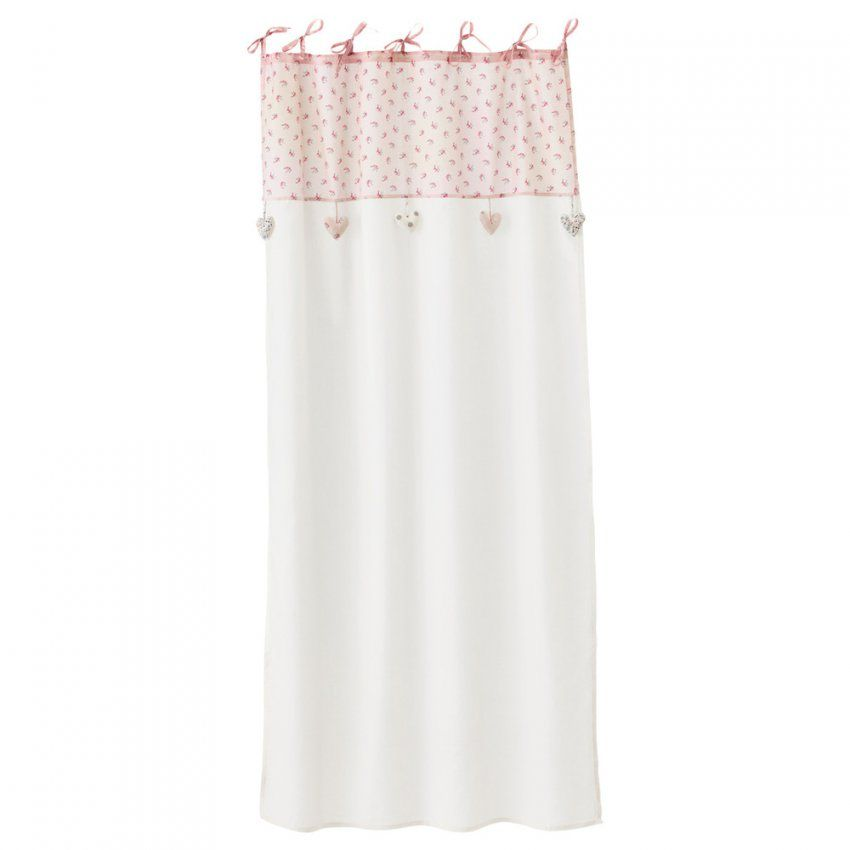 Maison Du Monde Vintage 7  Vorhang Mit Schlaufen Zum Binden Aus von Vorhang Schlaufen Zum Binden Photo