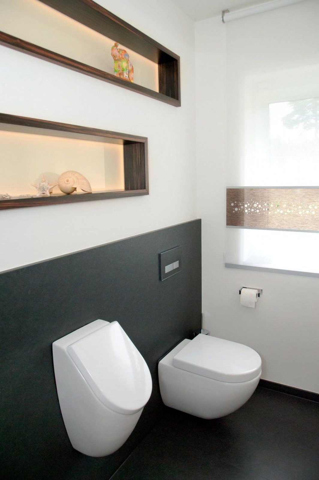 Makassarebenholz Und Naturstein In Gästewc│ Nrw  Wc Toiletten von Gäste Wc Design Ideen Photo