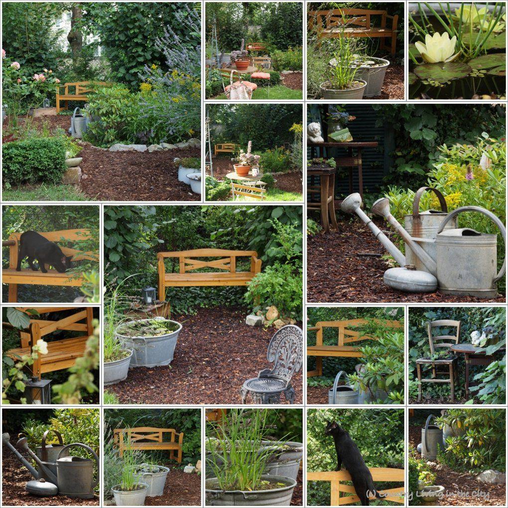 Making Of Garden Paths With Bark Mulch – Wege Und Sitzplätze Aus von Sitzplatz Im Garten Anlegen Bild