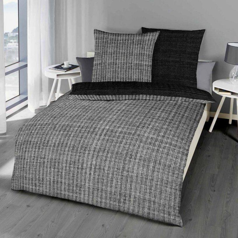 Makosatinbettwäsche Eternity (200X200 Schwarz)  Dänisches von Bettwäsche 200X200 Schwarz Weiß Bild
