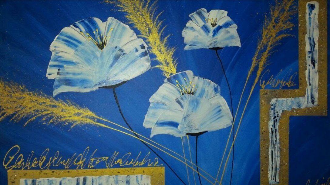Malen  Abstrakt  Acryl  Blumen  Für Anfänger Abstrakte von Abstrakt Malen Für Anfänger Bild