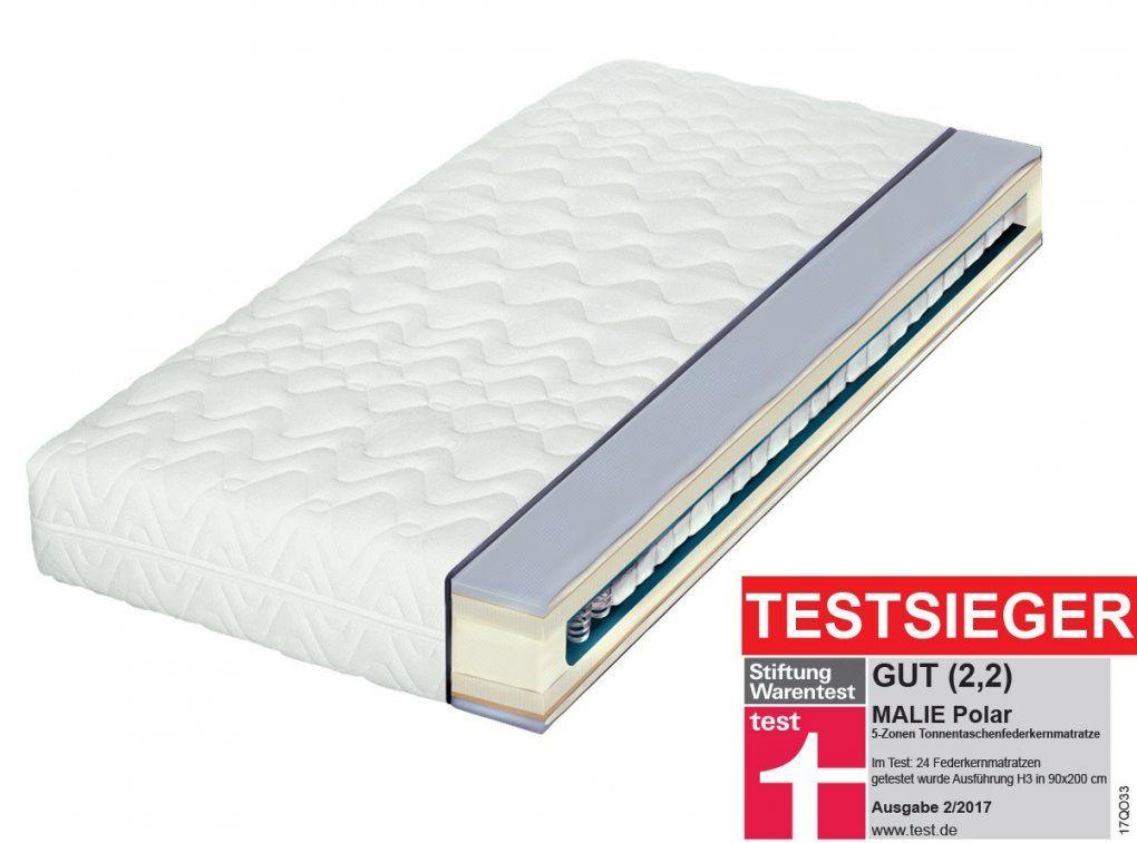 Malie Polar Tonnentaschenfederkernmatratze H2  H3  Bettenriese von Matratze Für Seitenschläfer Test Bild