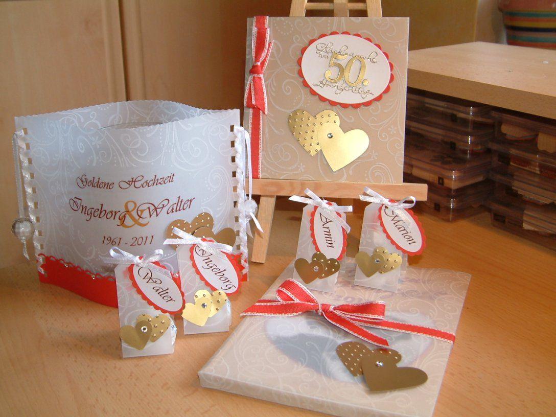 Marions Bastelstübchen Tischdeko Zur Goldenen Hochzeit von Tischdeko Zur Goldenen Hochzeit Photo